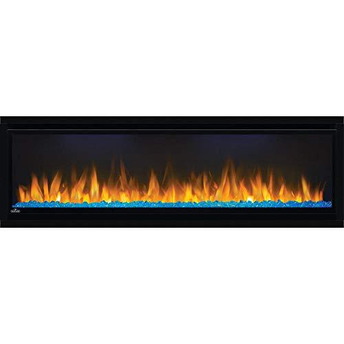 Napoleon Alluravision-NEFL50CHD-Deep Wall Hanging Electric Fireplace, 50 Inch Deep, Black