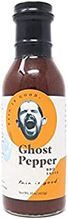 Pain is Good Ghost Pepper BBQ Sauce, 15.0 Ounce