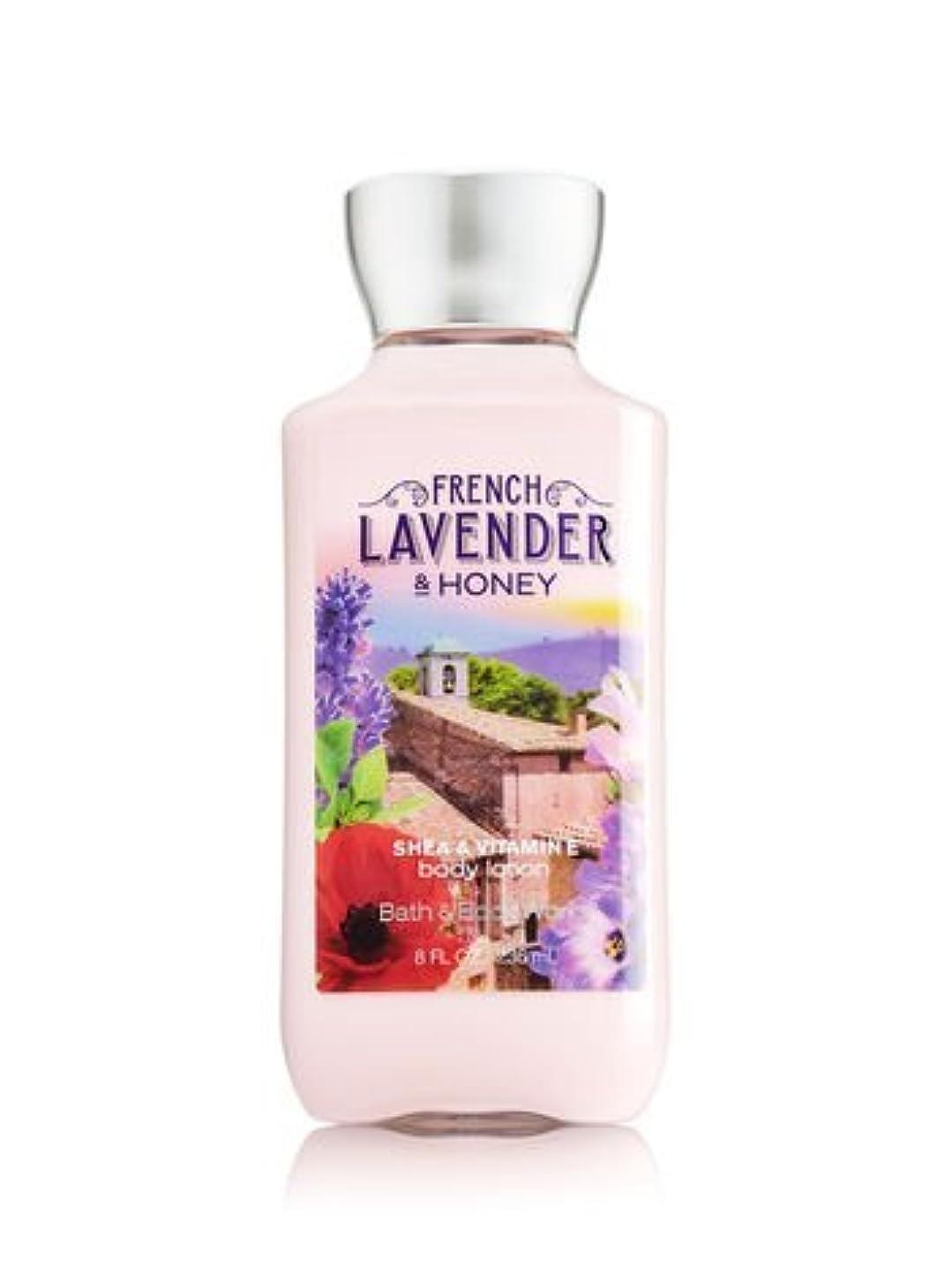 固有の不快なウッズ【Bath&Body Works/バス&ボディワークス】 ボディローション フレンチラベンダー&ハニー Body Lotion French Lavender & Honey 8 fl oz / 236 mL [並行輸入品]