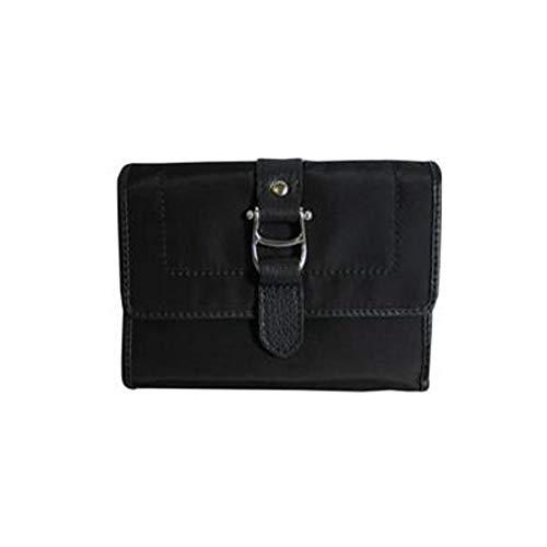 Aigner Damen Geldbörse Geldbeutel 152923 schwarz