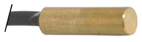 Magneetschakelaar voor espressomachine NO aansluiting platte stekker 6,3 mm lengte 31,5 mm inbouw ø 9 mm kabel 140 mm
