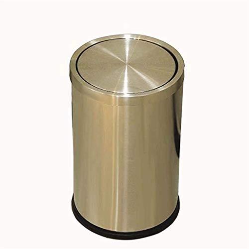 SDHKE Poubelle de qualité Commerciale en Acier Inoxydable (Color : C)