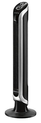 Rowenta Eole Infinite VU6620F0 Ventilador de torre de pie de 1 m de alto, 3 velocidades, oscilación de 180 grados (Reacondicionado)