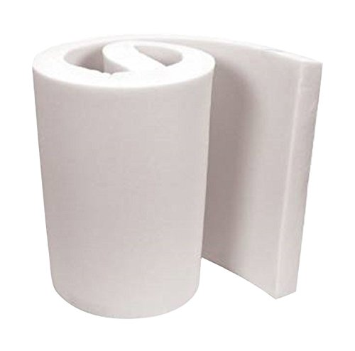 Best Deals! FoamTouch Upholstery Foam Cushion, 3'' L x 30'' W x 72'' H, Medium Density