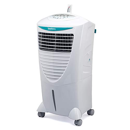 Symphony HiCool-i Modern Personal Room Air Cooler 31-litres, with Remote, Honeycomb Pad, Multi-Stage Air Purification & Low Power Consumption (White)