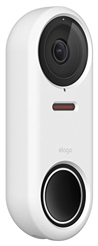 elago Nest Hello Deurbel Case - [Full Cover Protection] [Night Vision Compatible] [Duurzaam materiaal] [UV-lichtbestendig] - Patent in afwachting