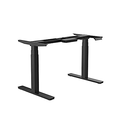 GT Innovation Dual motor Height Adjustable Desk Sit Stand Desk Stand Up Desk Standing Workstation Monitor Riser Electric Touch Control Dual motor