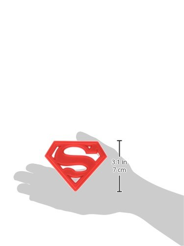 Product Image 2: Bumkins Silicone Teether, DC Comics Textured, Soft, Flexible, Bacteria Resistant – Superman