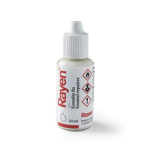 Rayen 6165.01 Esmalte Fix, Blanco, 20 ml