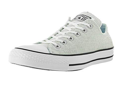 Converse All Star V3 Ox Canvas 7 V603, Kinder-Sportschuhe, Weiß - Blu Polare Nero Bianco - Größe: 35.5 EU