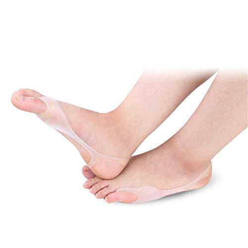 HAOT Protectores Juanete Camilla del Dedo Gordo del pie 2 Pares Órtesis del Pulgar en valgo, Corrector del juanete Brace, Banda elástica ortopédica del Dedo del pie ⭐