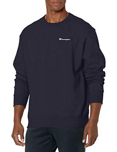 Champion Herren Powerblend Sweatshirt, Navy, Medium