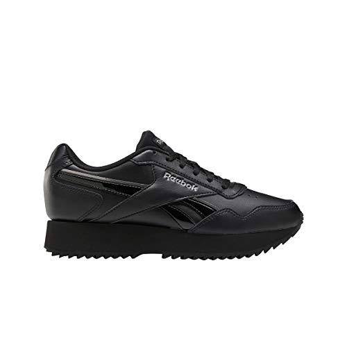 Reebok Royal Glide RPLDBL, Zapatillas de Running Mujer, Negro/Negro/TECMET, 40.5 EU