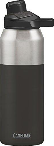 Camelbak Chute Mag vacuum-insulated botella de agua inoxidable, 32oz, negro (chorro), 1 L