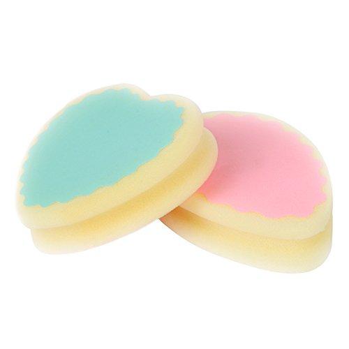 TrifyCore Esponja de depilación sin dolor de la forma de corazón de la esponja para las mujeres Color aleatorio 1x