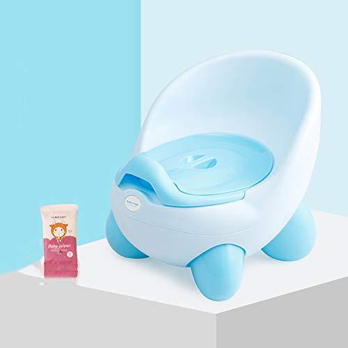 Draagbare Potty Training Stoel voor Kinderen Rugleuning Ontwerp Peuter Toiletstoel Splash Guard Verwijderbare Potty Bowl Gemakkelijk te monteren Toiletbril voor Jongens en Meisjes