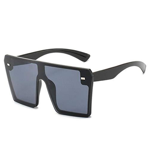 DIF Oversize Square zonnebril Vrouwen Flat Top Gradient Bril Mannen