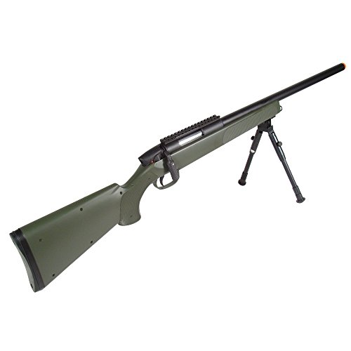 UTG Sport Gen 5 Airsoft Master Sniper Rifle, OD Green
