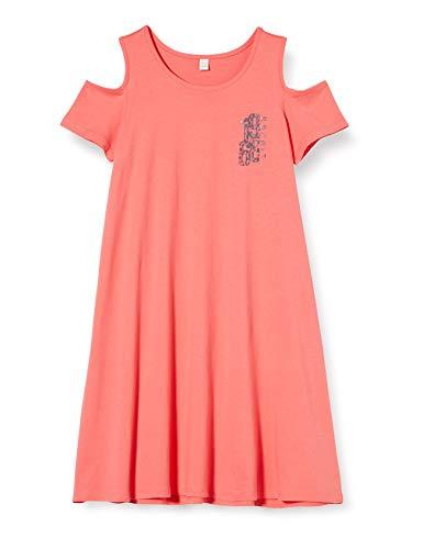 ESPRIT KIDS Mädchen RQ3108503 Knit Dress Kleid, Rosa (Coral 323), 152 (Herstellergröße:M)