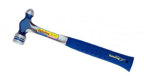 Estwing E3-8BP Ballpeen Hammer, Nylon Vinyl Shock Reduction Grip, 8-Ounce