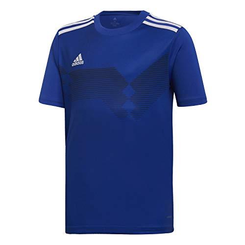 adidas Campeon 19 Jersey, Maglia Unisex Bambini, Bold Blue/White, 116
