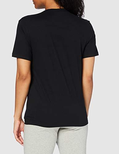 Calvin Klein Pyjama-Top Comfort Cotton Camiseta, Negro (Black 001), XS para Mujer