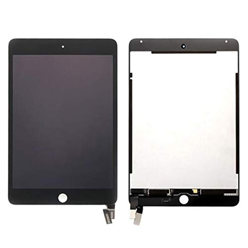 Lcds for iPad Mini 4 LCD Mini4 A1538 A1550 LCD Display Touch Screen Digitizer Panel Assembly Replacement Part + Free Tool +Tempered Glass (Black)