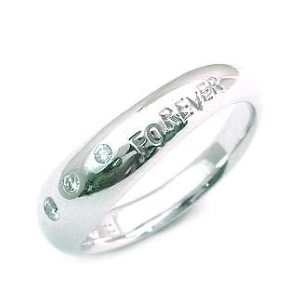 ポジションによるとポインタ( プラチナ ) ダイヤモンドデザインリング(特注サイズ) #16