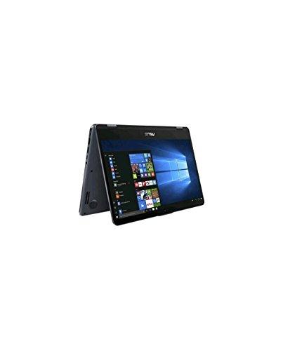 Asus VivoBook Flip TP410UA-EC468T Notebook Convertibile, Display da 14', Processore i7-8550U, 1.8 GHz, SSD da 256 GB e HDD da 1000 GB, 8 GB di RAM [Layout Italiano]