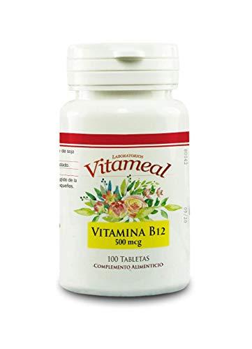 Vitameal Vitamin B12 500Mcg. 100Comp. 50 g