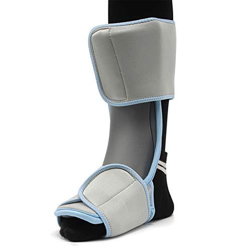 Wxnnx Correas de apoyo ortopédicos para fascitis plantar, férulas nocturnas, tendón estiramiento, Aquiles, alivio del espolón del talón, M