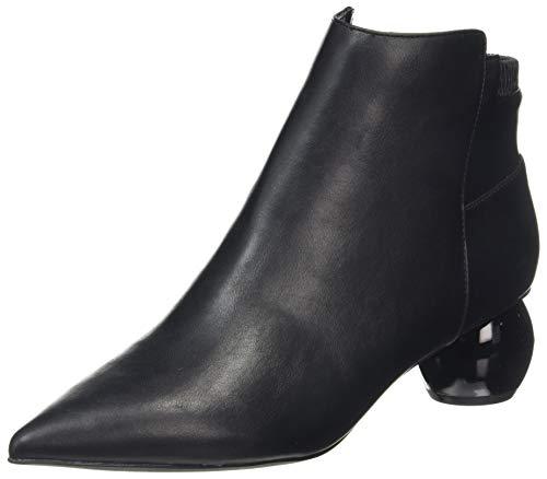 Dorothy Perkins Aldous Dome Heel Ankle Boots, Bottine Femme, Noir, 40.5 EU