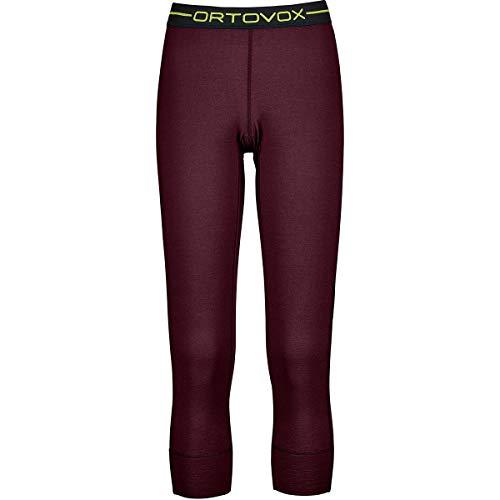 ORTOVOX 145 Ultra Short Pants W Femme, Bordeaux foncé, L