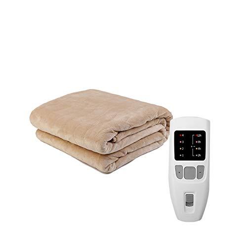 YYSYN Manta Electrónica, Manta Térmica con 3 Niveles De Temperatura, Función De Apagado Automático, Función De Protección contra Sobrecalentamiento, Temporizador Y Lavable