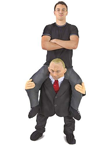 Morph MCPBCO Mach es selbst Füllung Halloween Karneval Huckepack Kostüm, Putin, Einheitsgröße
