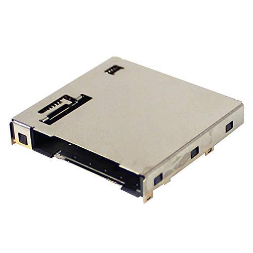 Ydhsja - Conector de soporte de ranura de lector de cartucho de juego para interruptor NS