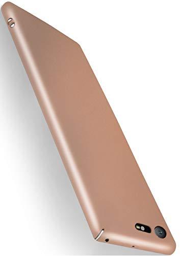 MoEx® Funda Trasera [Ultrafina] Compatible con Sony Xperia XZ Premium | Metálico...