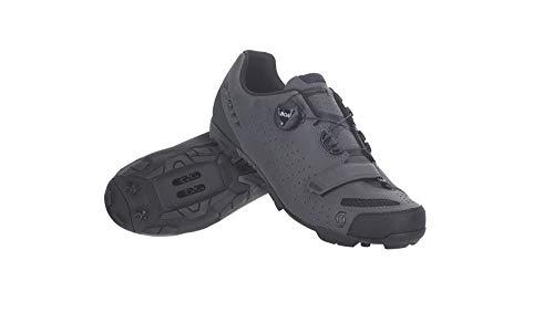 SCOTT Zapatilla MTB Comp Boa Ciclismo, Hombre, Grey Reflective/Black, 46