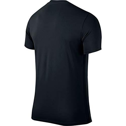 Nike Park VI, Kids Park Vi Trikot T-shirt, Black (Black Mat/White), Small