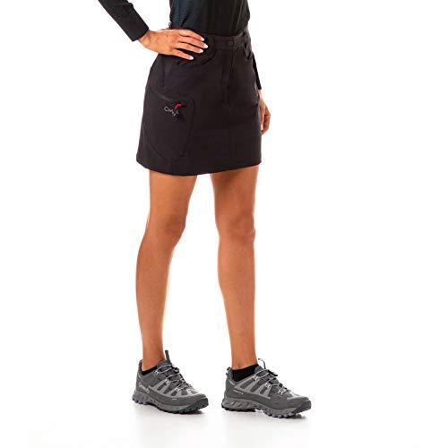 Cimalp Jupe-Short Stretch avec Boxer intégré