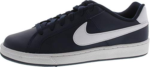 Nike Court Royale, Scarpe da Ginnastica Uomo, Blu (Obsidian/White/Metallic Silver), 38.5 EU