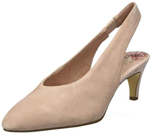 Tamaris Damen 1-1-29502-24 Slingback Pumps, Pink (Old Rose 558), 42 EU