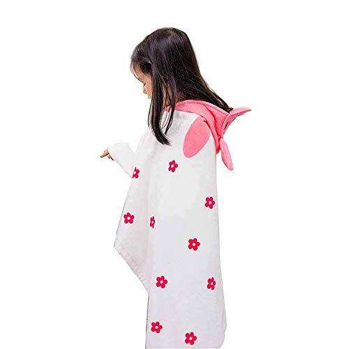 Handtuch Poncho für Damen Bademantel Bio-Baumwolle Kinder Kinder Baby Neoprenanzug Bademode Wickeltuch Strand Bademantel Strand Kapuzen Badetuch Für Unisex Kleinkind Für Bad Dusche Surf-Tauchanzug für