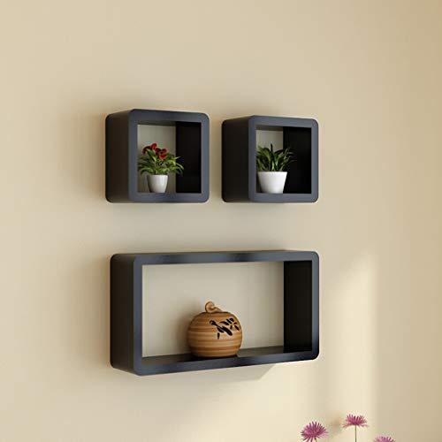 Wandrek - wandrek scheidingswand voor woonkamer, tv, creatieve achtergrond Zwart