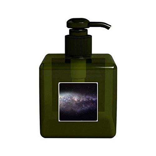 Modelo elíptico nebulosa cosmética del universo Bomba de botella dispensador de jabón líquido