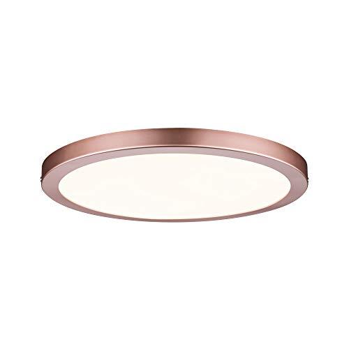 Paulmann 70872 Aufbaupanel LED Atria rund Deckenleuchte 22W Licht 2700K Warmweiß LED Panel Roségold dimmbar für Wand- und Deckenmontage