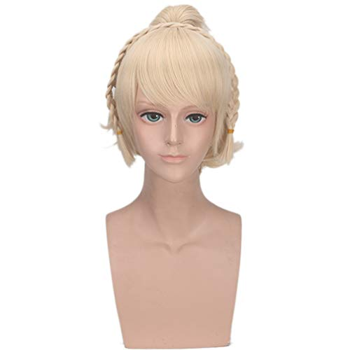 Peluca Final Fantasy 15 Lunafreya Nox Fleuret Peluca de pelo sintético