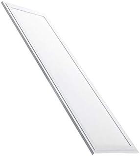 LEDUNI ® Panel Ultrafino Supuerslim LED Cuadrado 40W 4000LM Color Blanco Frío 6000K Angulo 120 IP40 OPAL Aluminio 1195 * 295 * 10Hmm Borde Blanco 120x30