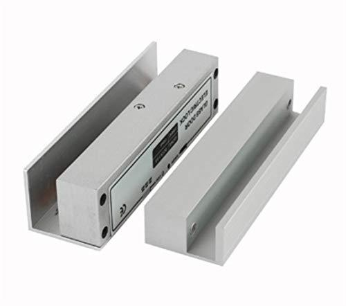 Cerradura de la puerta de cristal eléctrico pestillo de la cerradura, Sistema de Control de cristal sin marco puerta de acceso a las puertas batientes derecha libre de roturas, deformación y d