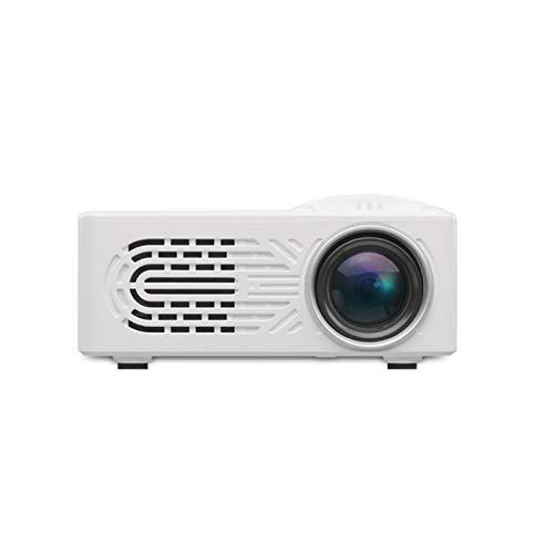 Beamer Projektor Elektrisch LED-Projektor RD814 Miniprojektor Home Tragbarer LED Miniprojektor HD 1080p Multifunktions-Mini-Digitalprojektor-Unterstützung Mobile Festplatte Home 3D